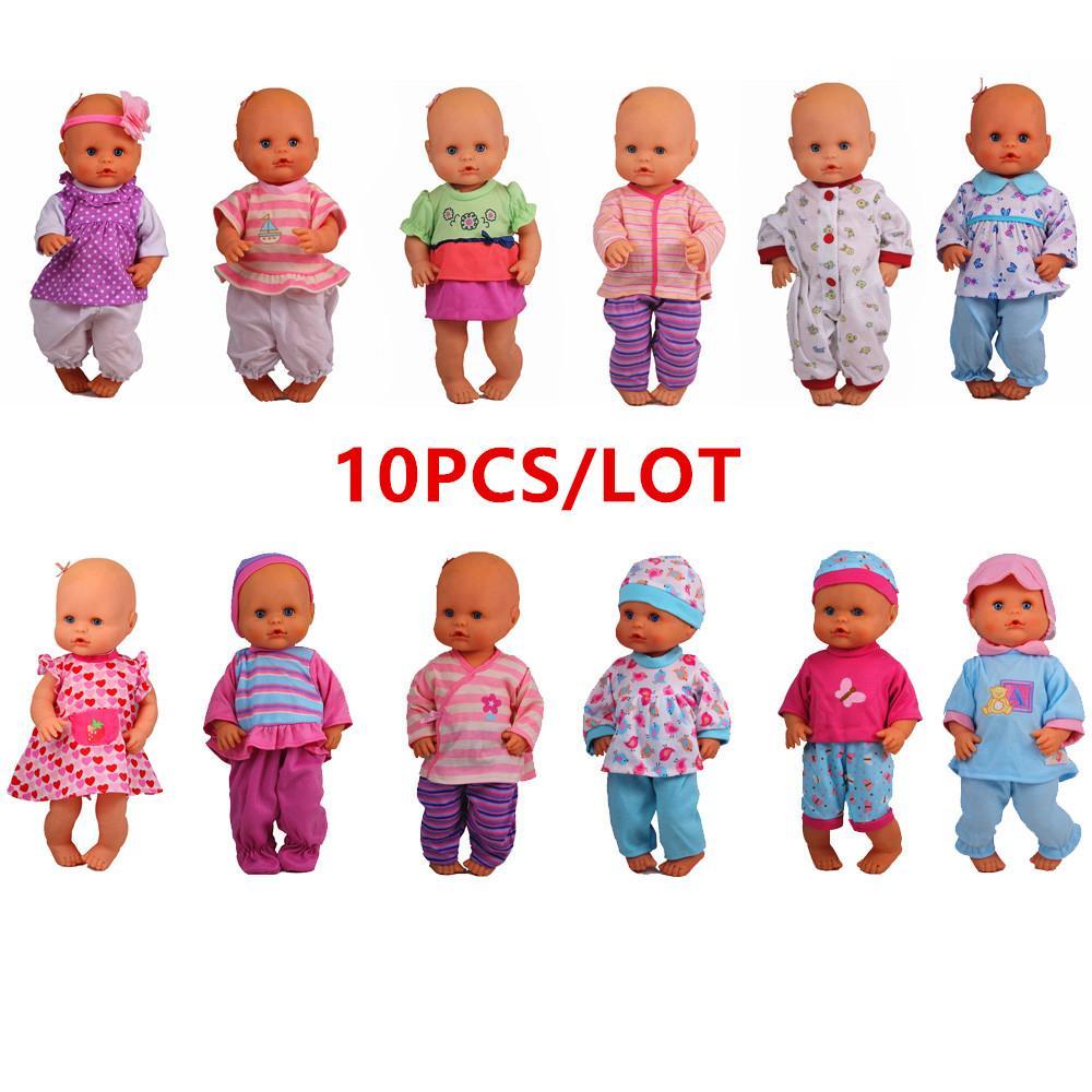Puppenkleidchen für kleine Püppchen der Größe 35 cm Babypuppen-Kleidung & -Accessoires