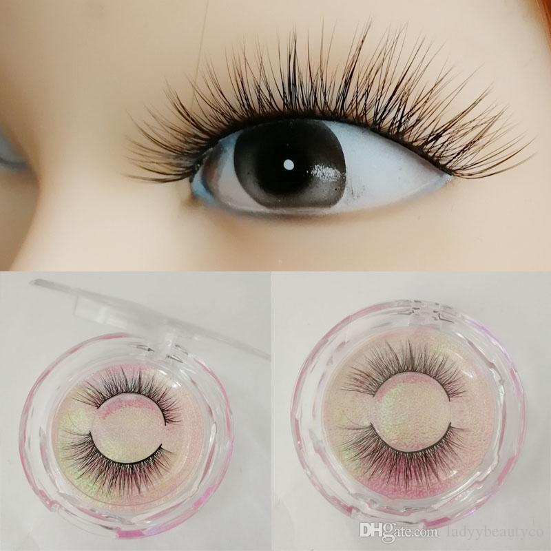 3d Lashes Mink Eyelashes Faux Lash Mink Eyelashes 3d Faux Hair Lash