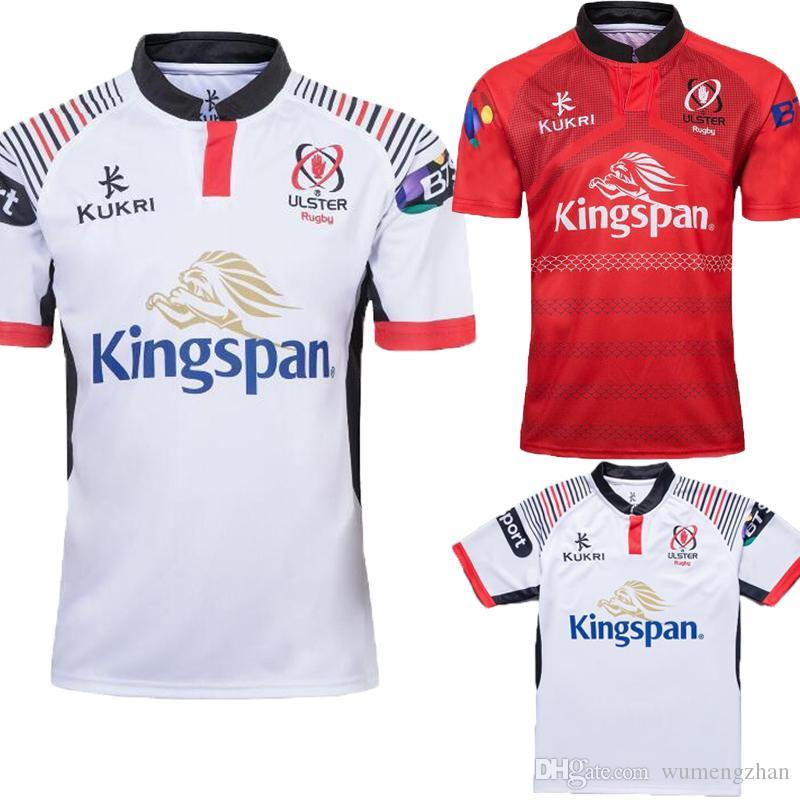 2019 Home And Away Rugby Jerseys Kukri Shirt New 18 19 ULSTER ... 9044e8c9b
