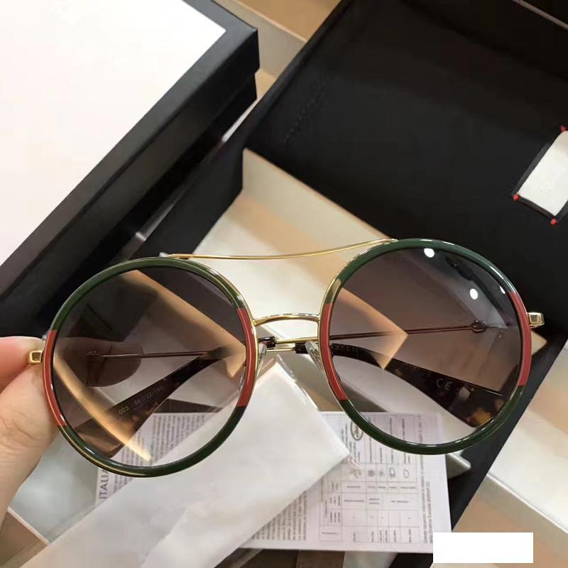0061 Luxury Sunglasses For Men Design Fashion Sunglasses Wrap Sunglass Oval Frame Coating Mirror Lens Carbon Fiber Summer Style With