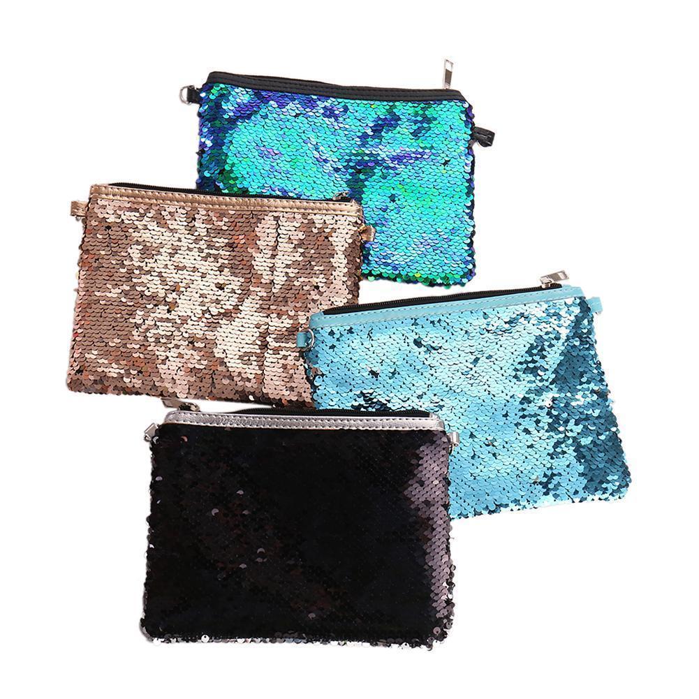 Women Mermaid Sequins Shoulder Messenger Bags Fashion Clutch Evening  Envelope Crossbody Storage Bling Bling Makeup Handbag Bag Overnight Bags  Bags For Women ... 3450c535d4ce