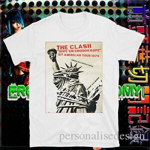 The Clash T-shirt Punk Joe Strummer BAD Sex Pistols Les damnés BuzzcoPrints