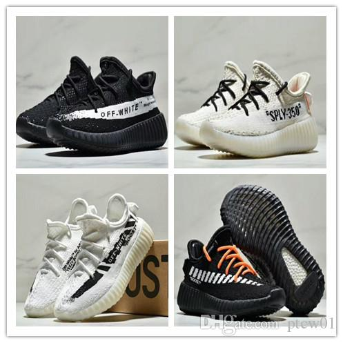 super popular 082d9 64aca Adidas Yeezy Boost 350 V2 Static kid Running Shoes Off-white 350 v2 3M  Reflective Static youth Shoes size 26-35