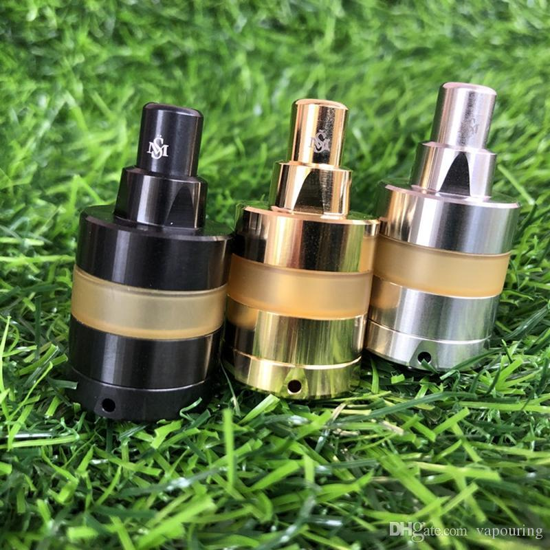 Newest Clone Kayfun Lite 22mm 24mm RTA Replaceable Tank Atomizer  Outstanding Flavor Single Coil Easily Building For 510 Thread Vape MODS