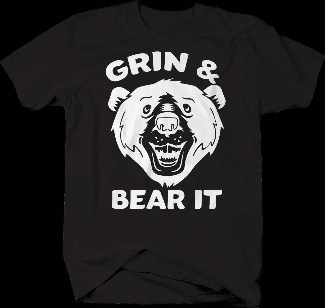super popular 4cc29 4c362 Grinsen und Bär es Funny T-Shirt Jacke Kroatien Leder T-Shirt