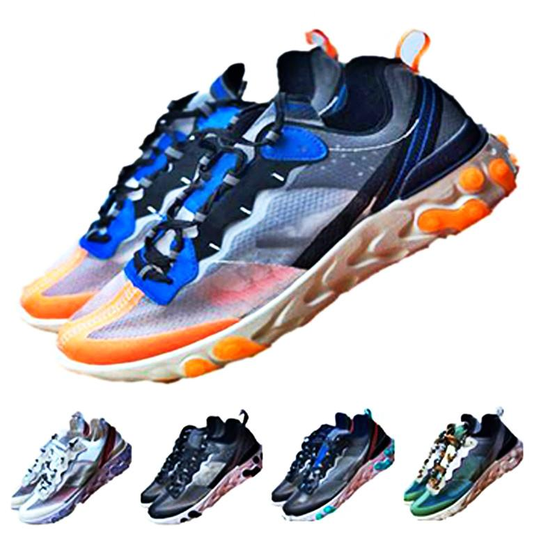 Volt Royal Tint Total Orange Epic React Element 87 Running Shoes For Women men Dark Grey fashion luxury designer sandals shoes size 36-45
