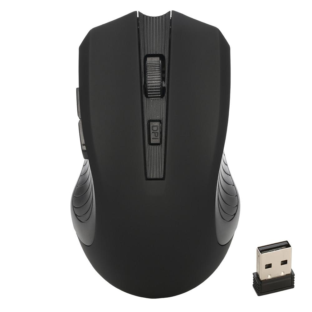 Professionale 2.4 Ghz Mini Wireless 6 Buttes 1600 DPI Optical Gaming Mouse Mouse per PC Laptop nero blu colore rosso Mouse # YL
