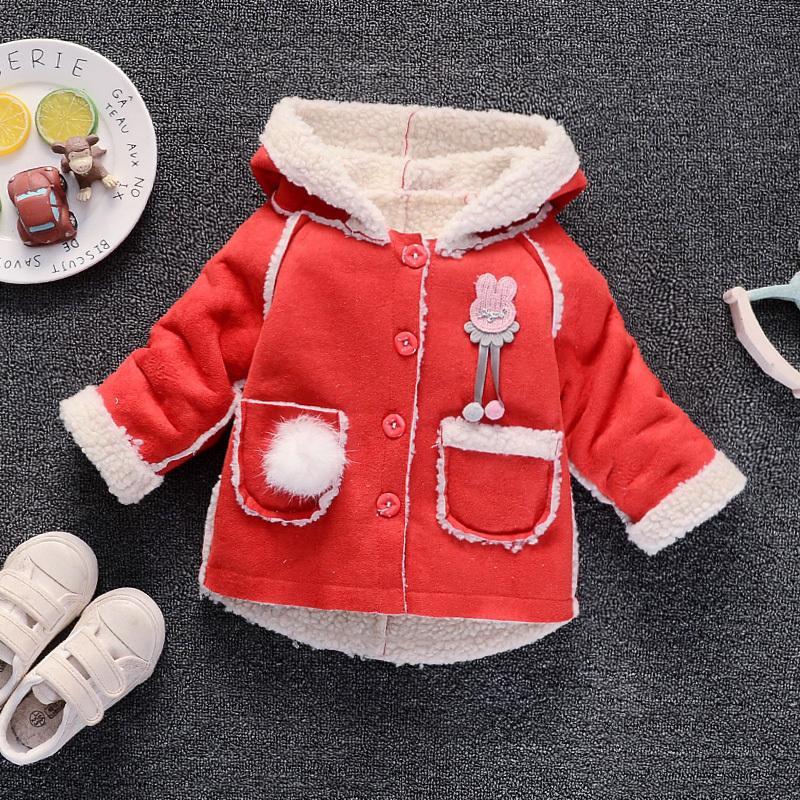 b31d1df7b BibiCola Kids Girls Autumn Fur Coat Fashion Outerwear Clothes ...