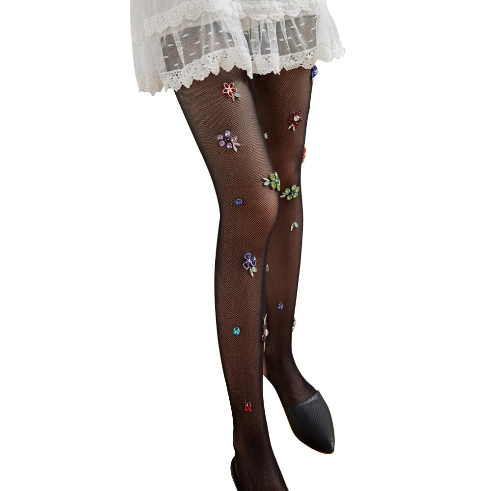 75f8e438d61034 2019 New Women Girls Sexy Fishnet Tights Mesh Pantyhose Shiny Flower  Stockings Lady Nylons Elastic FishNet Tights Hosiery From Yujian18, $34.39  | DHgate.Com