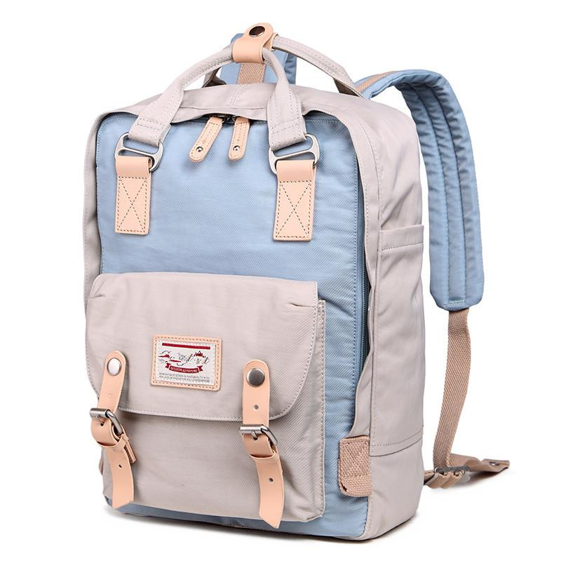 2019 New Fashion Women Candy Color Canvas Backpacks School Bags For Girl  Boy Casual Travel Bags Laptop Backpack Mochila S062 Boys Backpacks  Hydration ... 7dd22f3a26f48