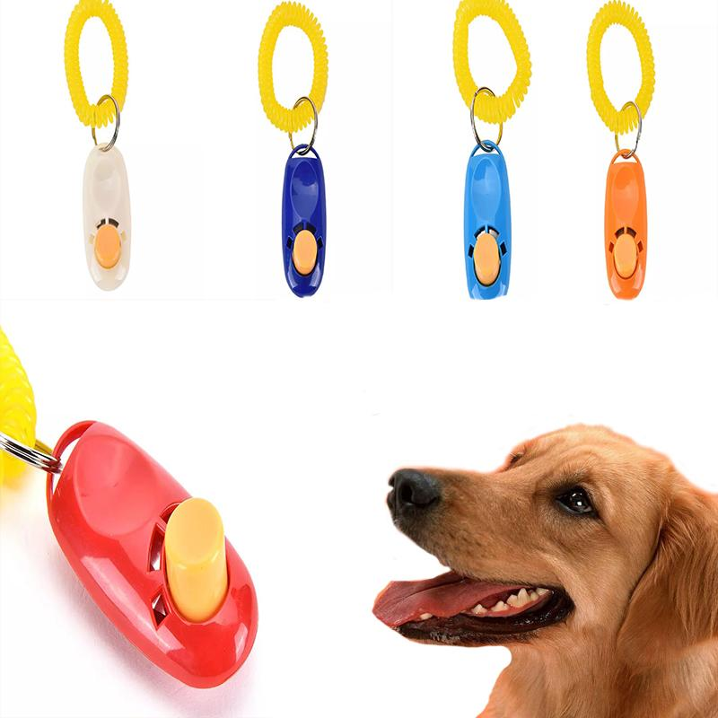 Training Clicker Puppy Dog Agility Training Obedience Trainer Pet Click /& Guide
