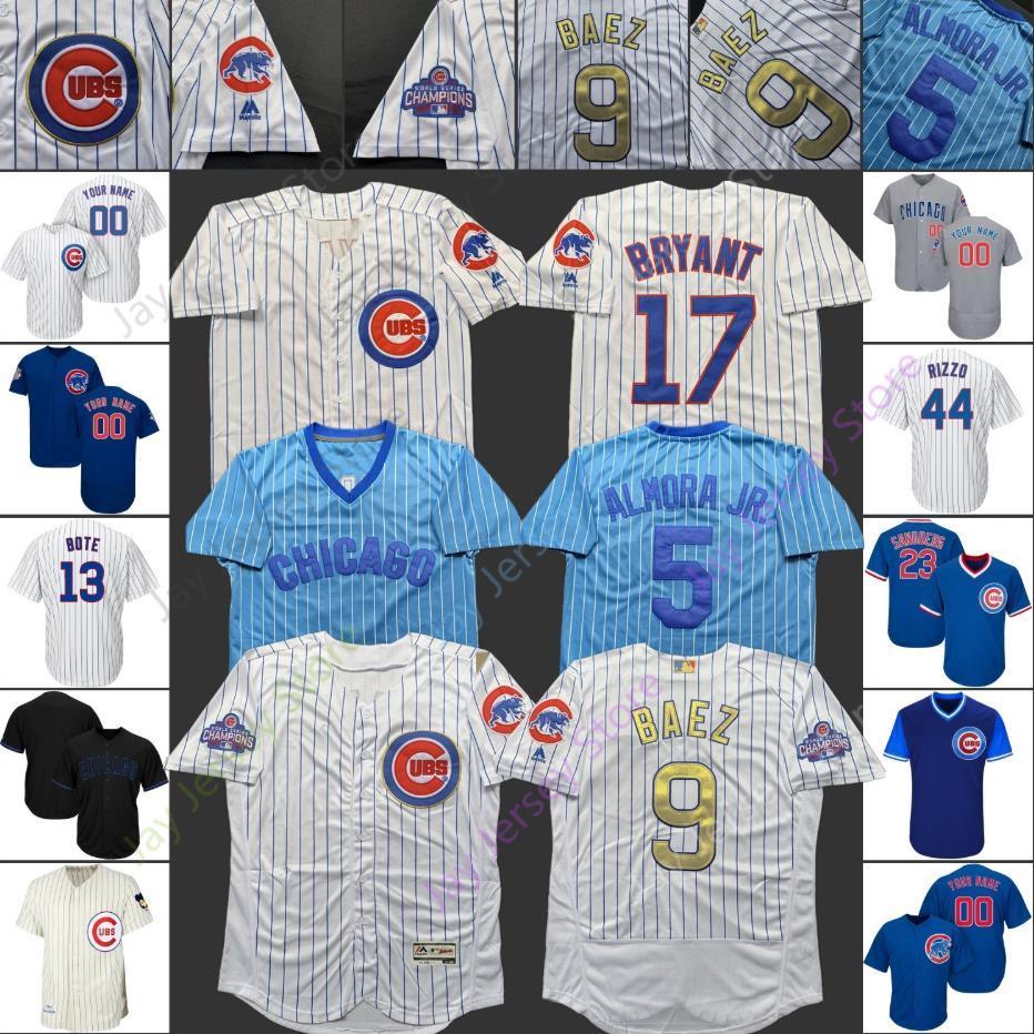 timeless design 56044 b4d96 Chicago Custom 2019 Cubs Jersey Justin Steele Pedro Strop Duane Underwood  Jr. Allen Webster Rowan Wick Taylor Davis Ian Happ Men Women Youth