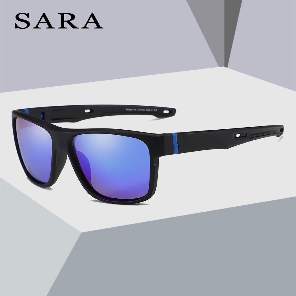 265da370f61 SARA Brand Fashion Square Plastic Polarized Men Sunglasses Oculos De Sol  Men S Sun Glasses Driving Fishing Male Shades Eyewear Sun Glasses Eyewear  From ...