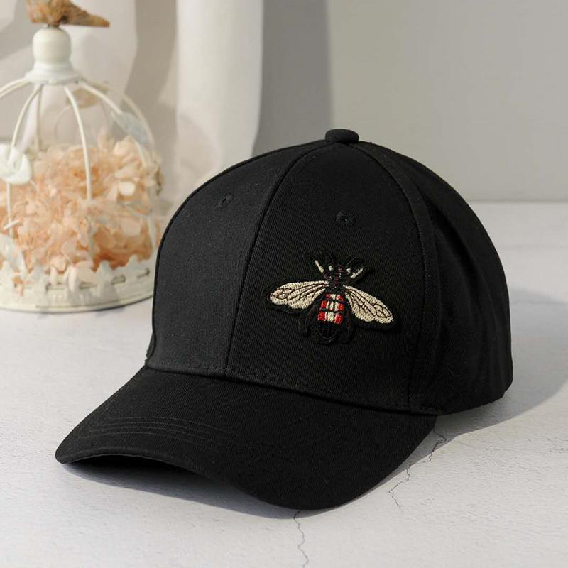 f1ab232dede New Fashion Black Couple Butterfly Baseball Cap Girls And Men ...