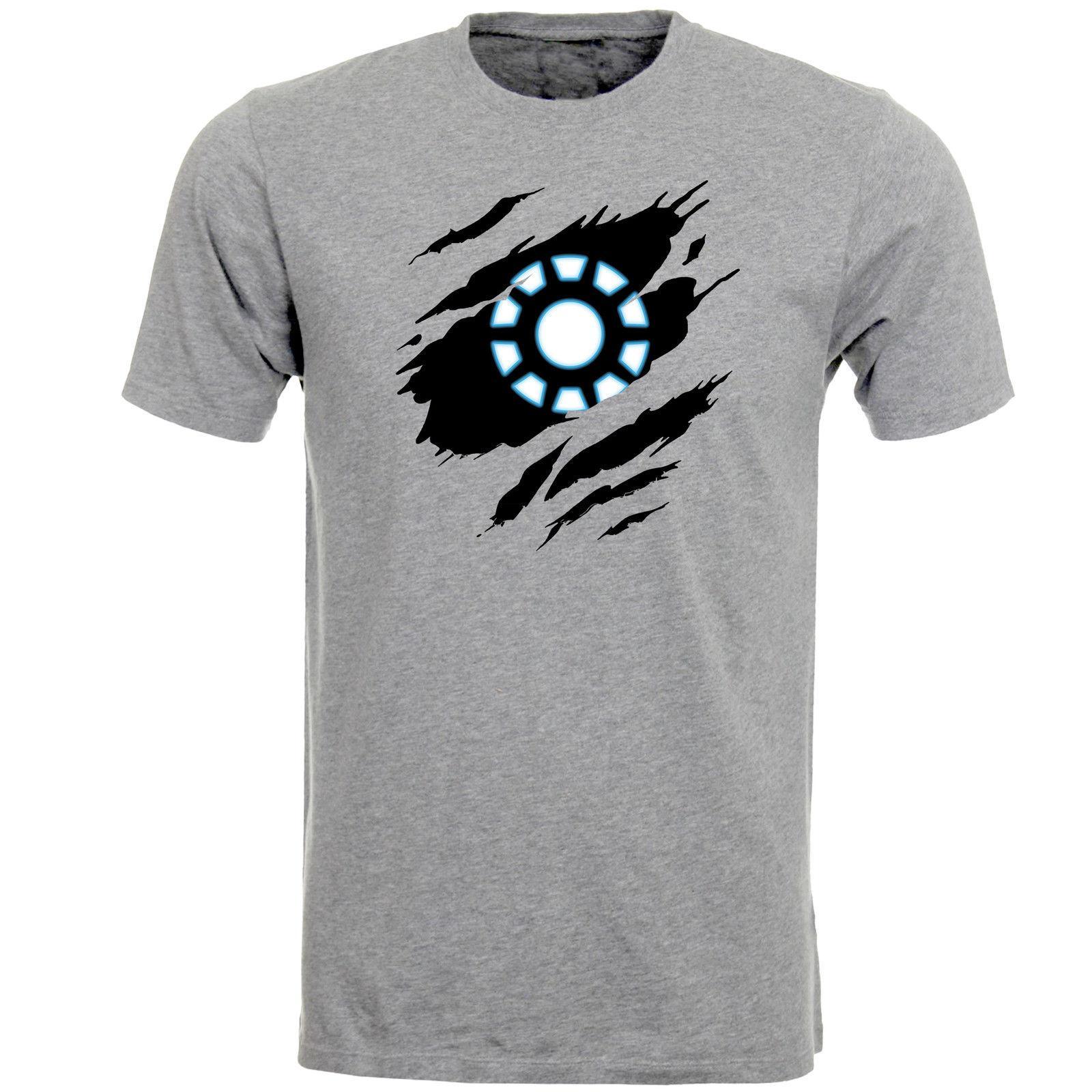 Compre Iron Man Arc Reactor Earth 616 Logo Marvel Comics Hero Camiseta Para  Hombre Camiseta Top AB65 A  11.48 Del Passion90  f419296a14dd0