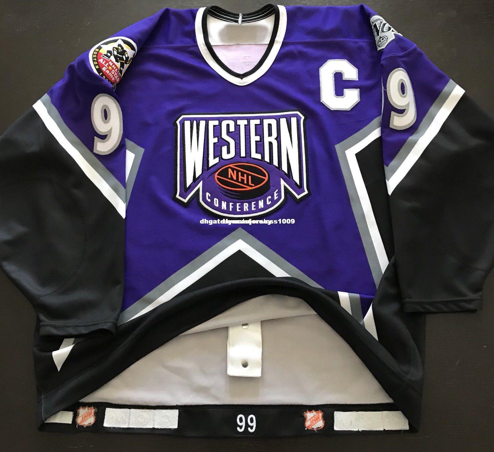 2019 Cheap Custom CCM 1996 Wayne Gretzky All Star Jersey Double CCM Game  Issue 54 Mens Personalized Stitching Jerseys From Hyncaajersey 6813d394a43