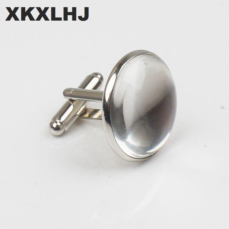 XKXLHJ Yeni Toucan Kol Düğmeleri Reklam Bira Kol Düğmeleri Yüksek Kalite Gümüş Bakır Yuvarlak Moda Erkekler ve Kadınlar Iş Düğmeleri