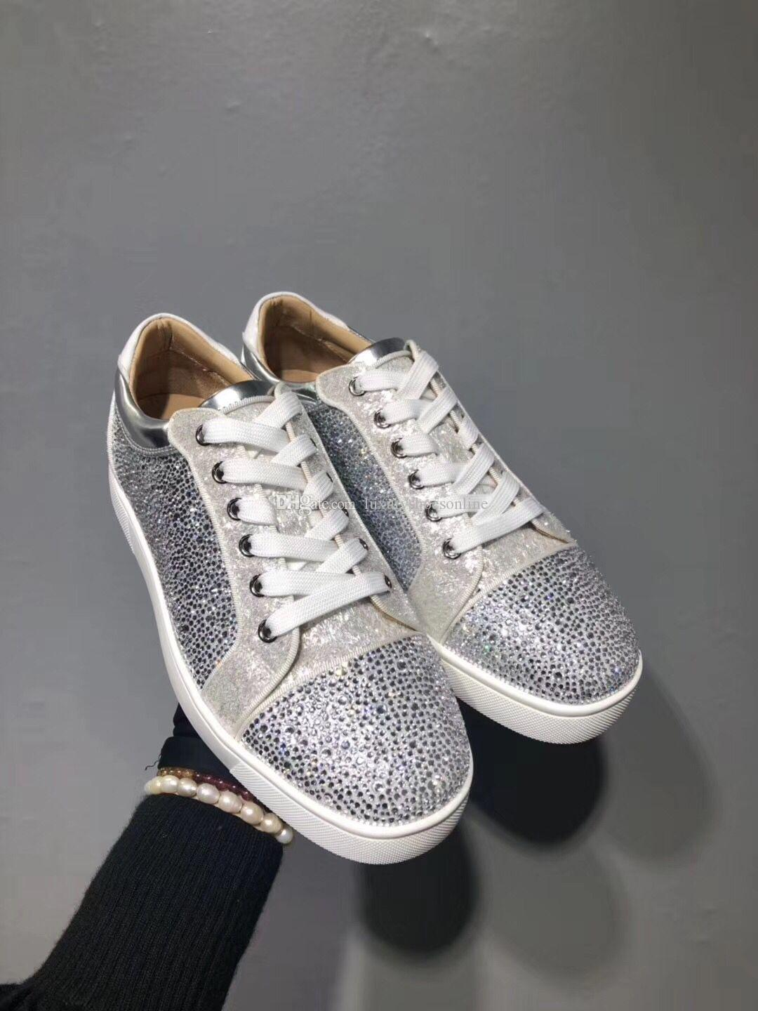 3d27e1ceb5d19 New Stylish Sneaker Shoes For Women,Men Red Bottom Shoes Low Top Trainers,Comfort  Walking Shoes,Cheap Best Party Wedding Dress With Box Formal Shoes For Men  ...