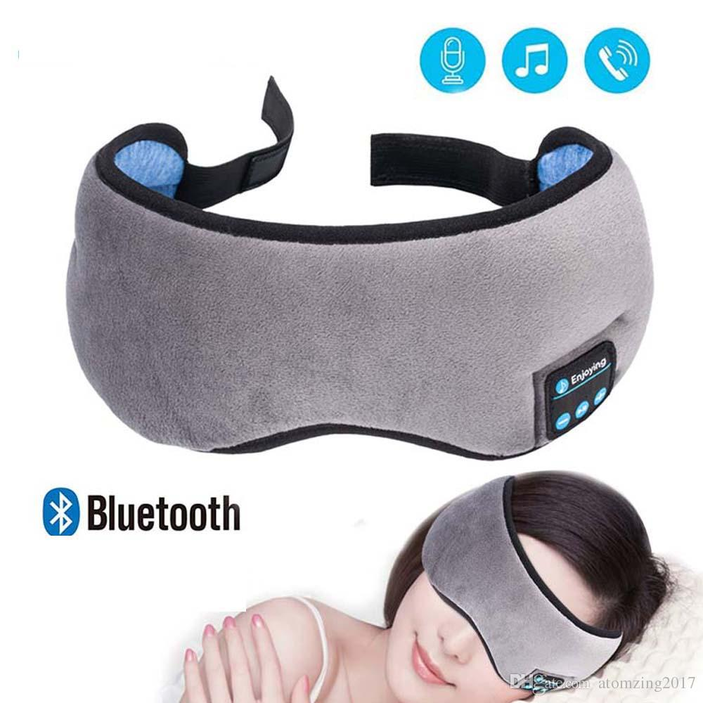 cd7027d983b Wireless Stereo Bluetooth Earphone Sleep Mask 4.2 Bluetooth Sleep Soft  Earphones Support Handsfree Sleeping Eye Mask Wireless Headset Best In Ear  Headphones ...