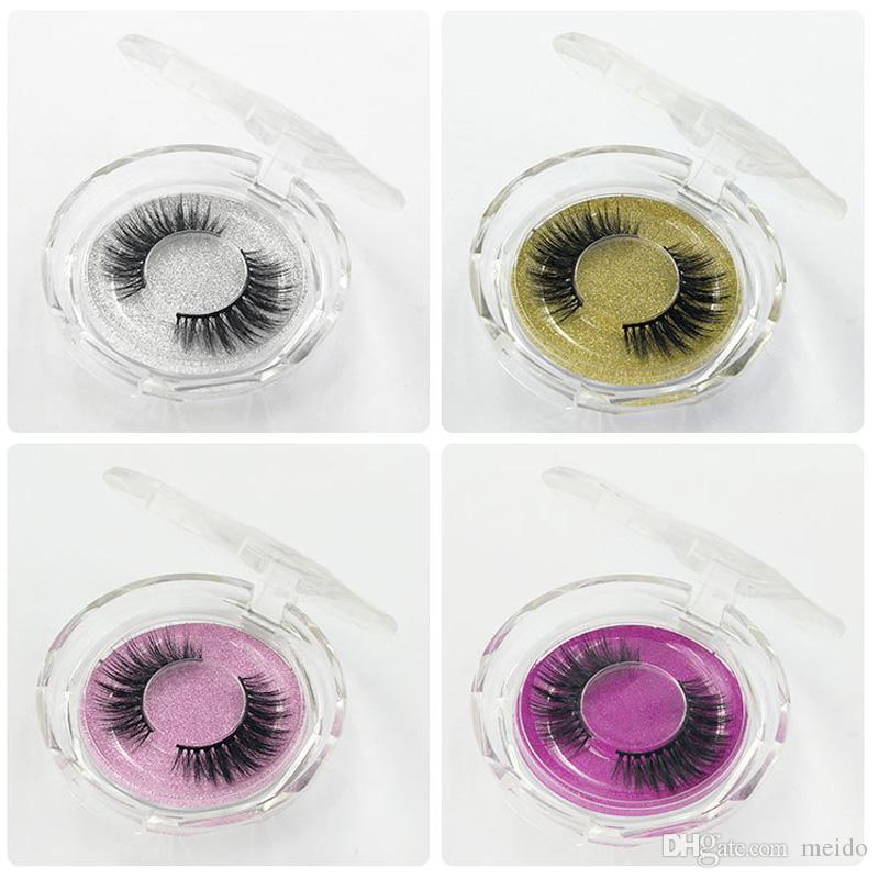 1Pair 3D Eyelashes Dramatic False Eyelash Thick Long False Eyelash Wispy Lashes Volume Lashes 29 Styles with Clear Retail Box