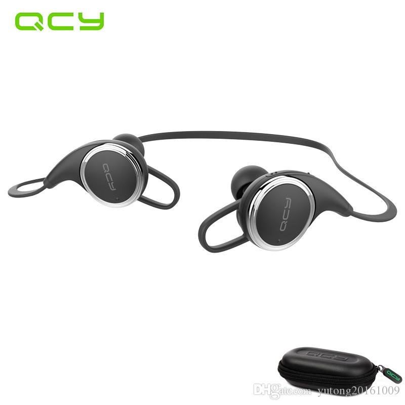 online store 13dec b9451 QCY QY8 sport wireless earphone running bluetooth headset gamer waterproof  earbuds with MIC noise cancelling and QCY storage box