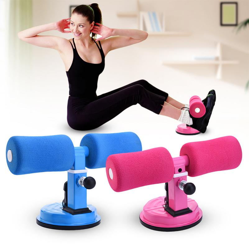 2019 women men sit up exerciser strong suction home gym fitness