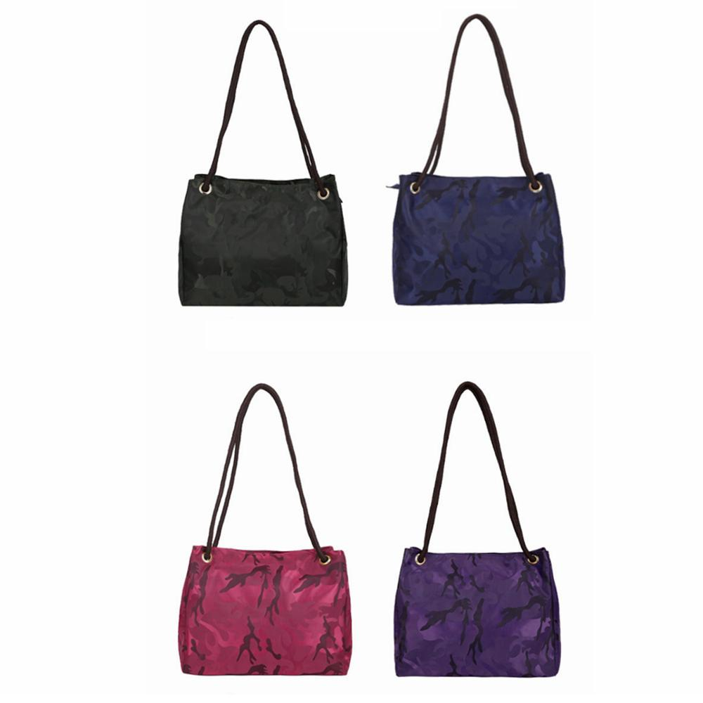 f24808a080cd Woman Camouflage Nylon Waterproof Handbag Fashion Lady Causal Shoulder Bag  Girl Travel Tote Handbags Outdoor Crossbody Bag LJJT471 Cheap Maternity  Pants ...