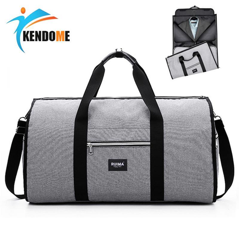 Women Mens Sport Bag Training Gym Bag Large Capacity Waterproof
