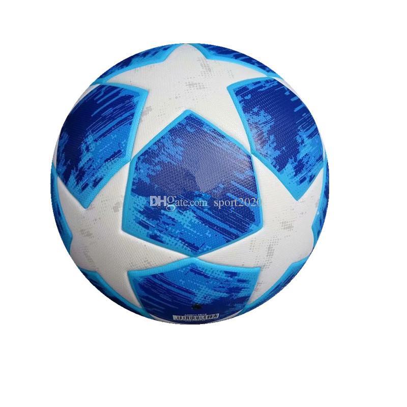 Compre Nuevo 2019 UEFA Champions League Balones De Fútbol Azul Verde  Naranja PU Tamaño 5 Fútbol Envío Gratis Balón De Alta Calidad A  25.13 Del  Sport2020 ... 8180d14a60804