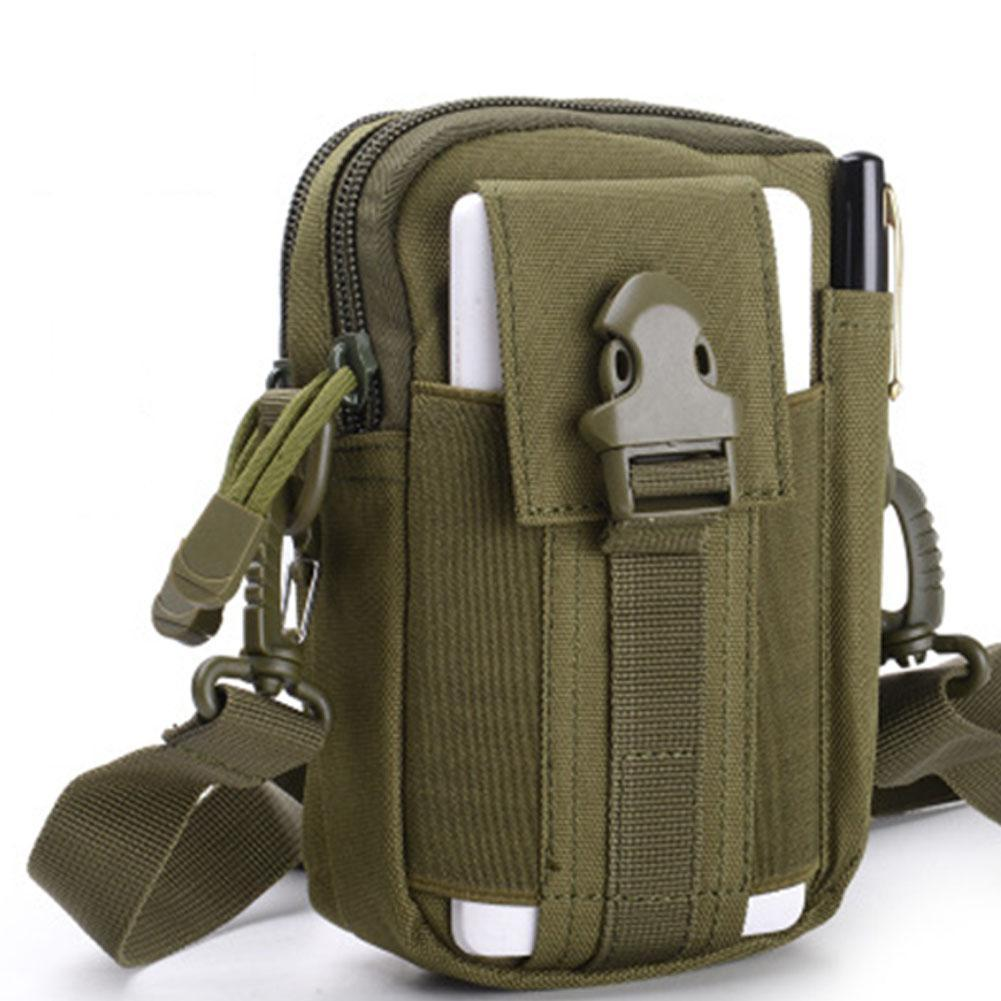03a821179bfd Mounchain 10L below Unisex Tactical Sports Waist Bags 600D Multi-functional  Outdoor Running Waist Bag Mini Shoulder Bag
