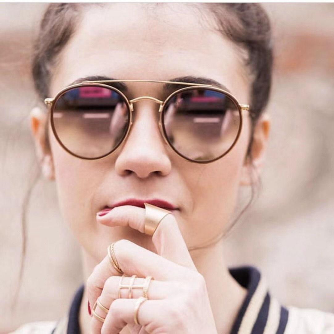 01611523a Compre Designer De Marca Steampunk Homens Mulheres Óculos De Sol UV400 Espelhado  Óculos De Sol Círculo Redondo Retro Vintage Sunglass Retro Vintage Com ...