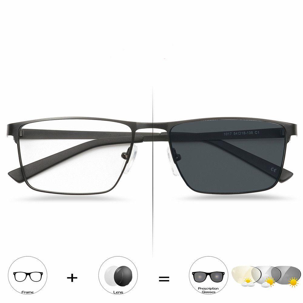 dda13a07e6 Compre Negocios Transición Al Sol Gafas De Lectura Fotocromáticas Para El Sol  Hombres Lentes De Presbicia Para Dioptrías A $12.33 Del Agoodtime    DHgate.Com