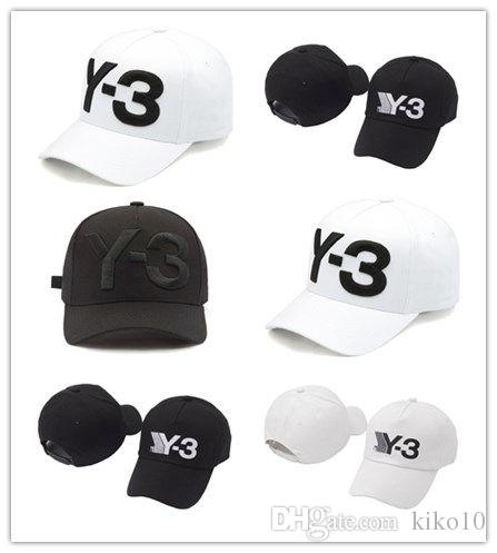 695c6726f7a7b Cheap 2018 New Y 3 Dad Hat Big Bold Embroidered Logo Baseball Cap  Adjustable Strapback Hats Y3 Ball Caps Fashion Men Caps Women Basketball  Flat Brim Hats ...