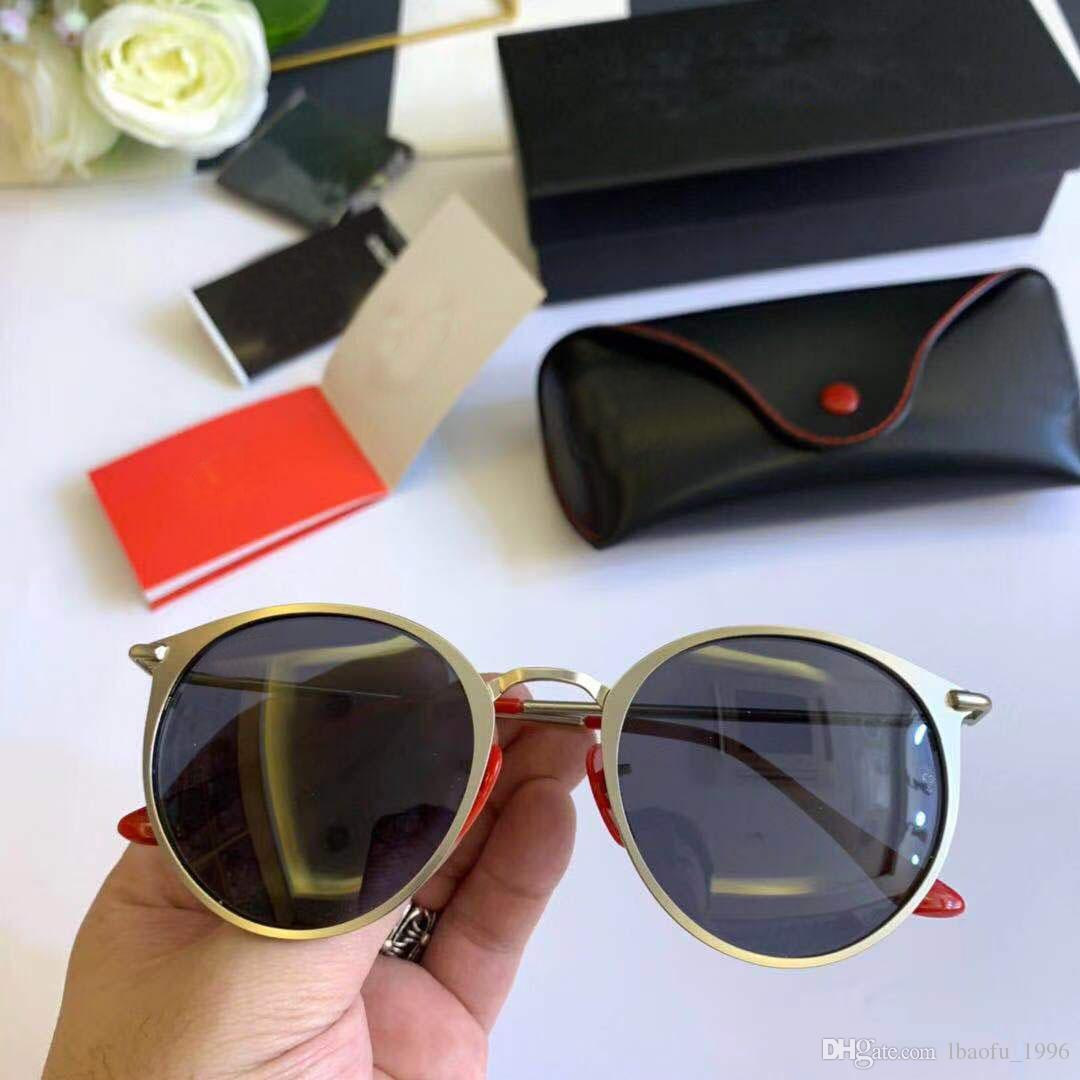 15511f14e5 Compre Ray Ban 2019 Nueva Moda Gafas De Sol Polarizadas Diseñador De Marca  Mujeres Hombres Vintage Gafas De Sol Sombras Espejo De Conducción A $43.33  Del ...