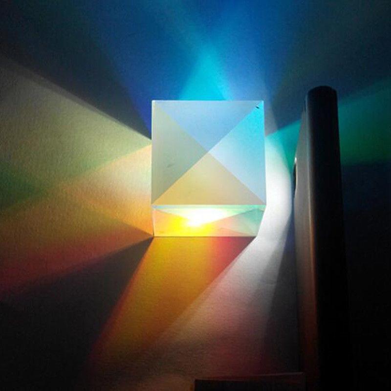 Glow feste Laser Beam Combine Cubo Prisma Specchio 405nm ~ 450nm Blu moduli a diodo laser giocattolo