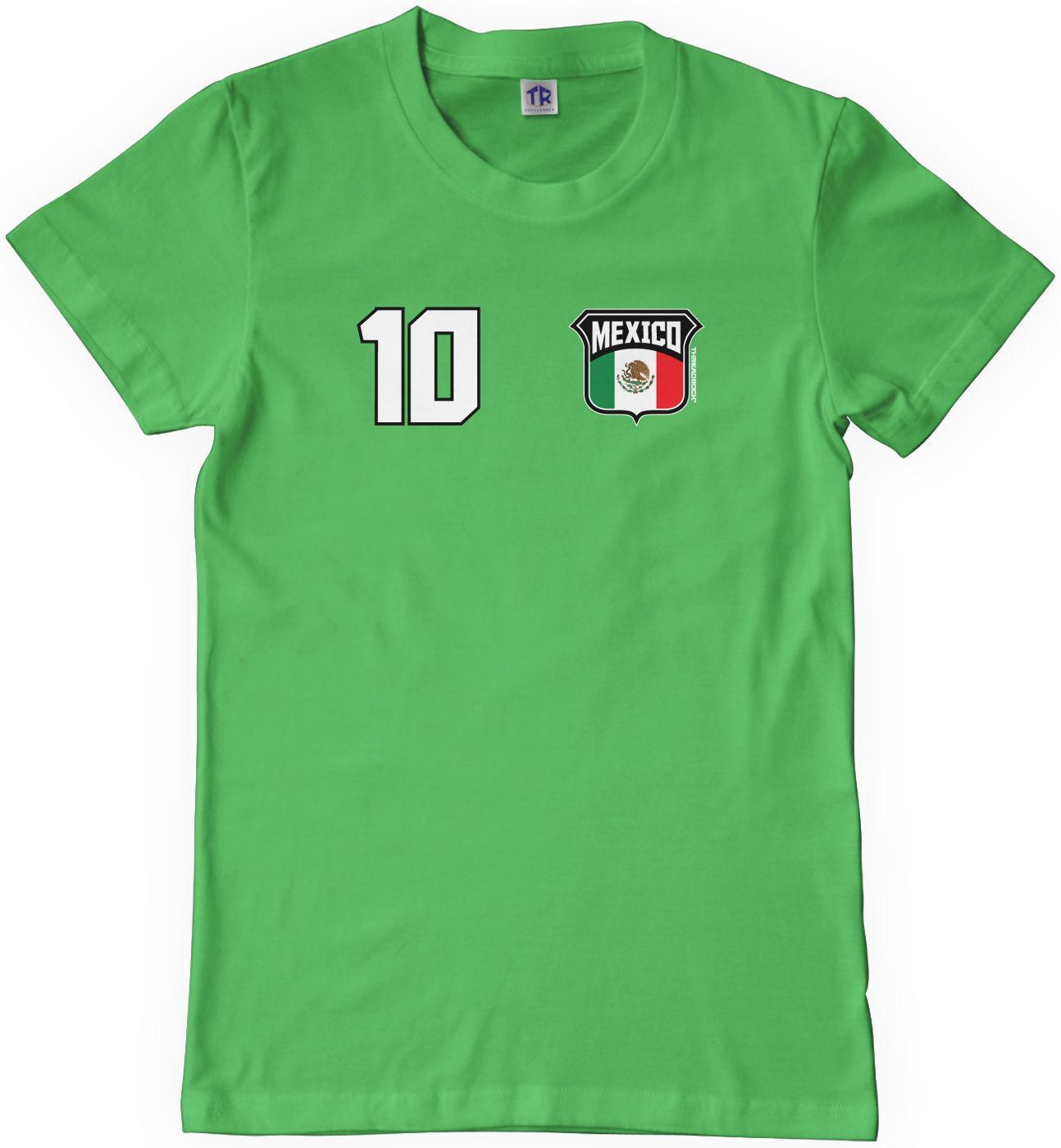 06ef7e287 Threadrock Kids Team Mexico Soccer Youth T Shirt World Cup Mexican Futbol  Men Women Unisex Fashion Tshirt Cool Tees Graphic T Shirt From ...