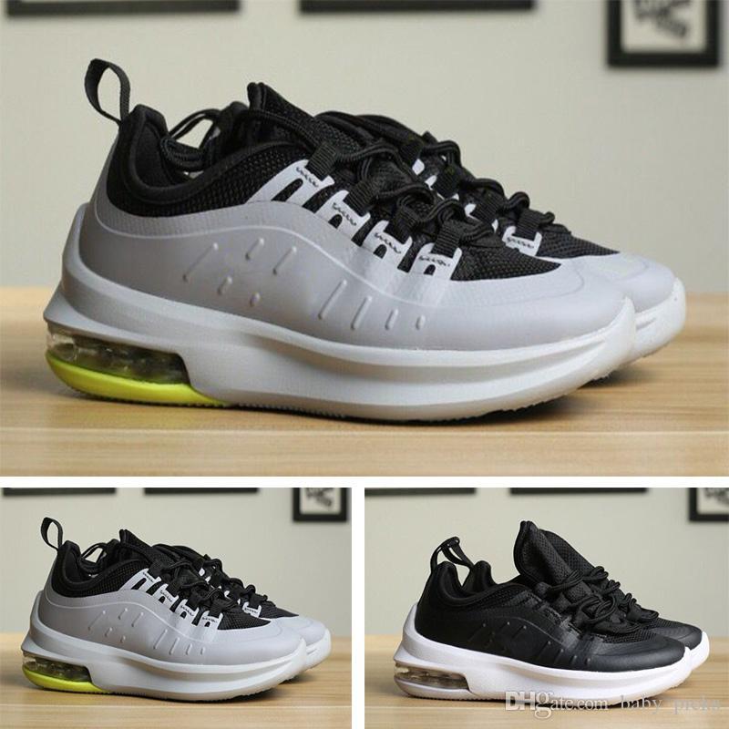 new products 2b888 066fc Acquista Nike Air Max 98 2018 New 98s White Silver Uomo Donna Bambini  Scarpe Da Corsa Di Alta Qualità 90 97 98 Sport Racer Blue Youths Sneakers  Sportive A ...