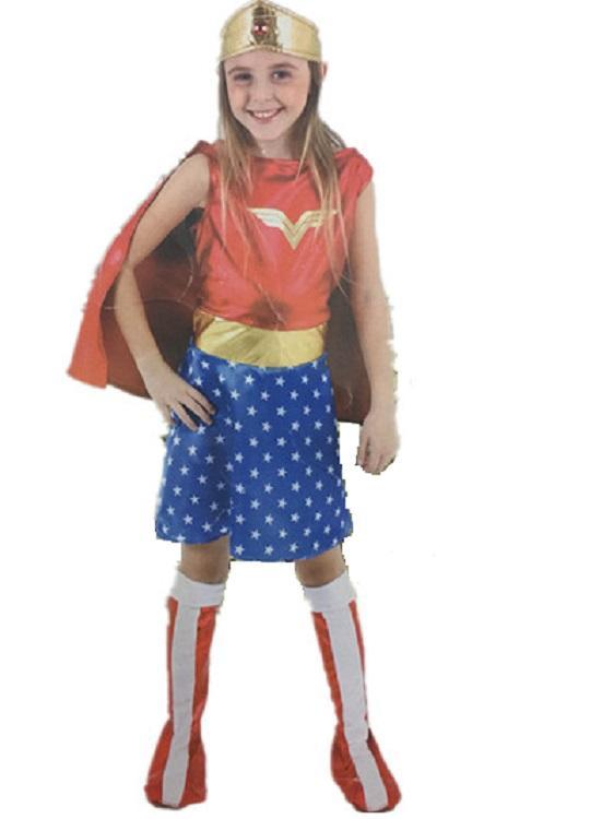 Wonder Woman Halloween Costume Kids.Accessories Cosplay Costumes Kids Halloween Costumes Girls Wonder Woman Costume Dress Girl Anime Cosplay Clothing Disfraces Carnaval