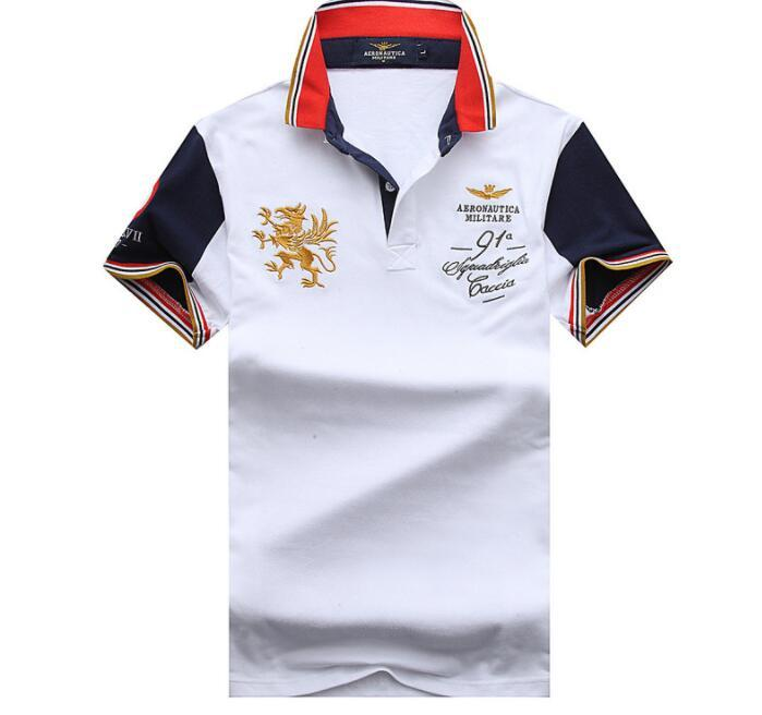 bf7b656a0 2019 Poloshirt Solid Polo Shirt Men Luxury Polo Shirts Long Sleeve Men S  Basic Top Cotton Polos For Boys Brand Designer Polo Homme From  Topsupplier007