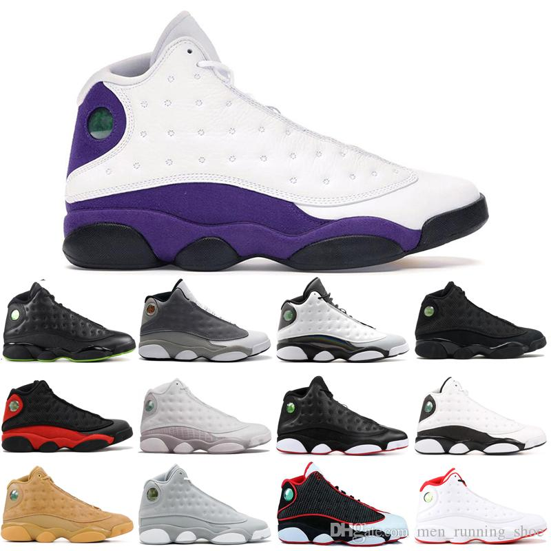 2019 New 13 13s mens basketball shoes Cap and Gown chicago COURT PURPLE Low Chutney mens sprots shoes designer sneakers