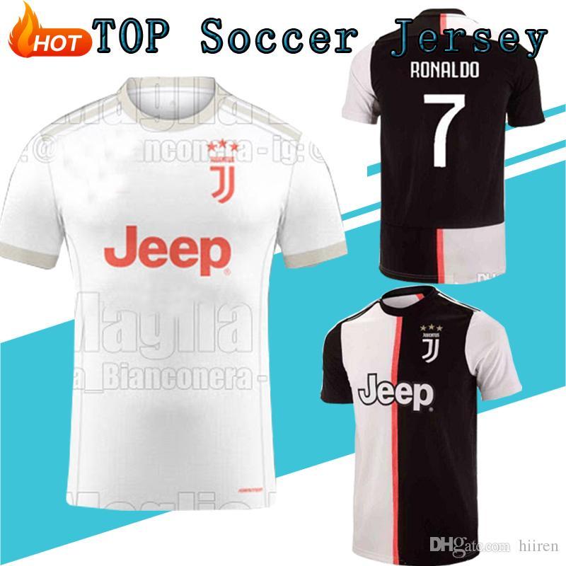 huge discount ce371 15633 2020 Juventus RONALDO Soccer Jersey Football Shirt Uniforms Szczesny  GOALKEEPER Bernardeschi 19 20 JUVE DYBALA Kids SPORTS Kits Sets