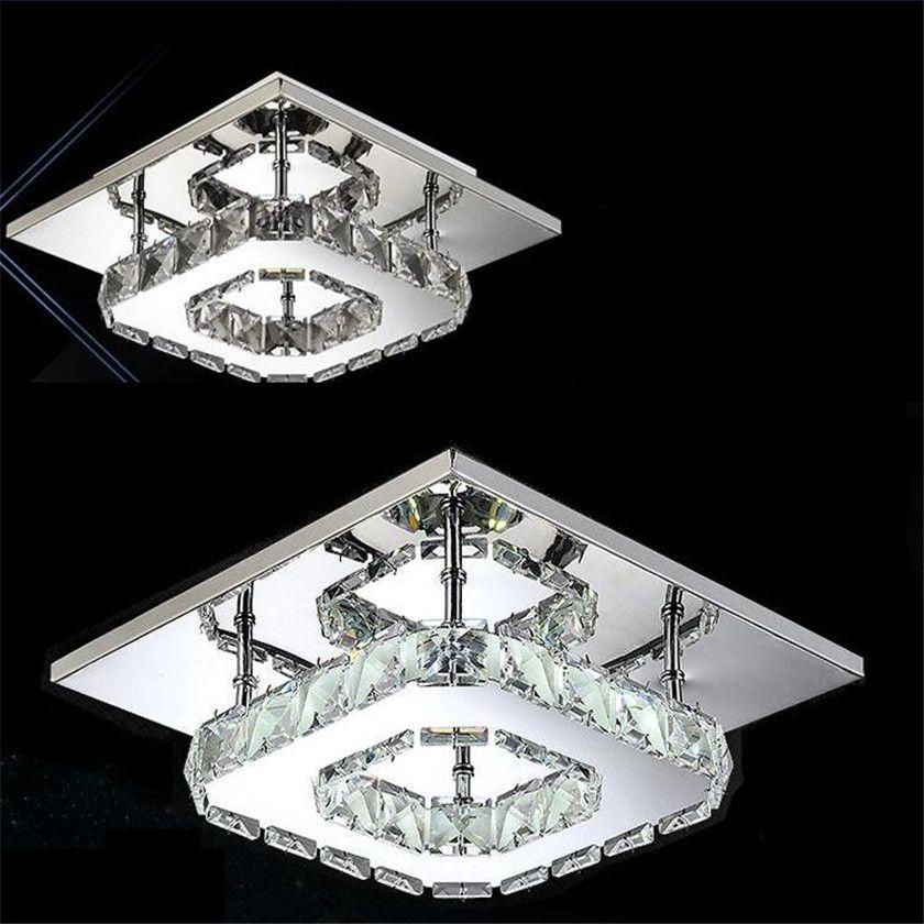 Abajur Le62 Modern Illumination Indoor Ceiling Lights Lighting Crystal Plafond Lamps Luminaria Home De Aisle Led Lustre K3TFc51Jlu