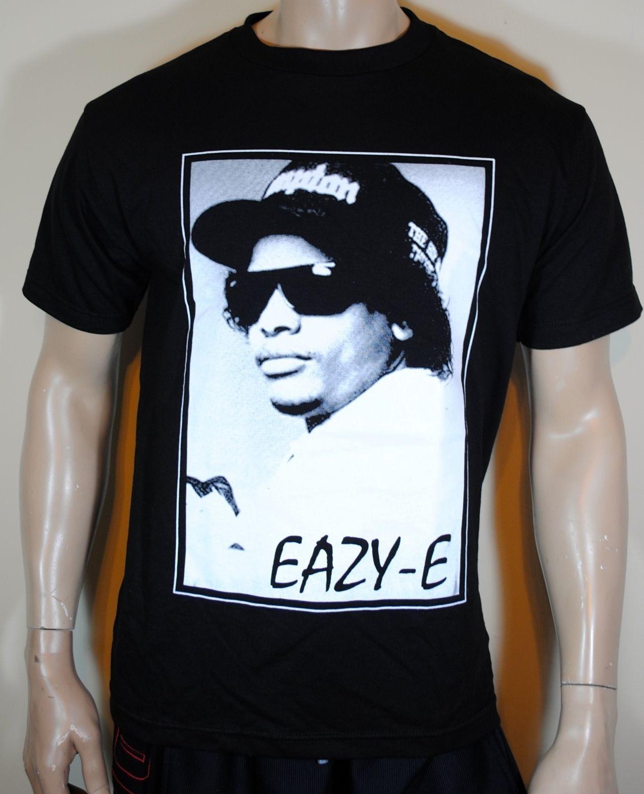 4f1c99c0 Eazy E Mens T Shirt Straight Outta Compton NWA Tee Tees Custom Jersey T  Shirt Men Shirts T Shirt Online From Shirtcup, $16.24  DHgate.Com