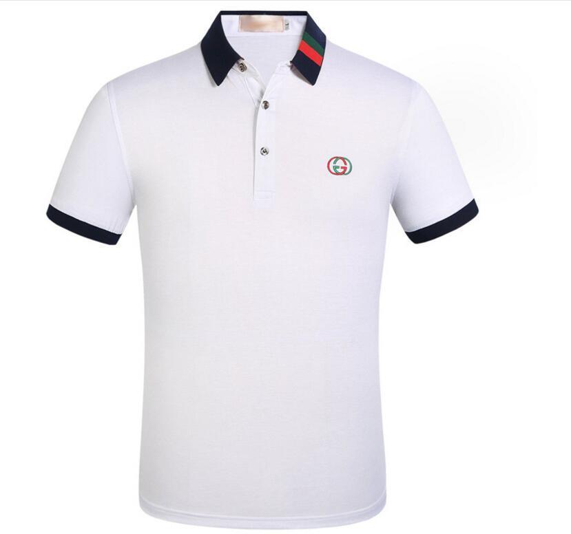 Men Polo Shirt 2019 Summer Men Business Casual Short Sleeve Women ... dfe286e71