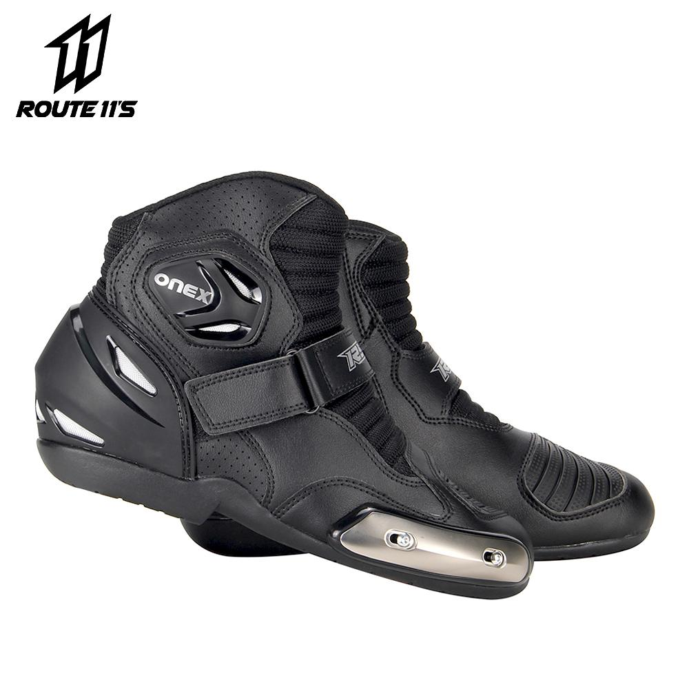 2019 Ryo Motorcycle Boots Men Motocross Boots Motorbike Shoes Biker