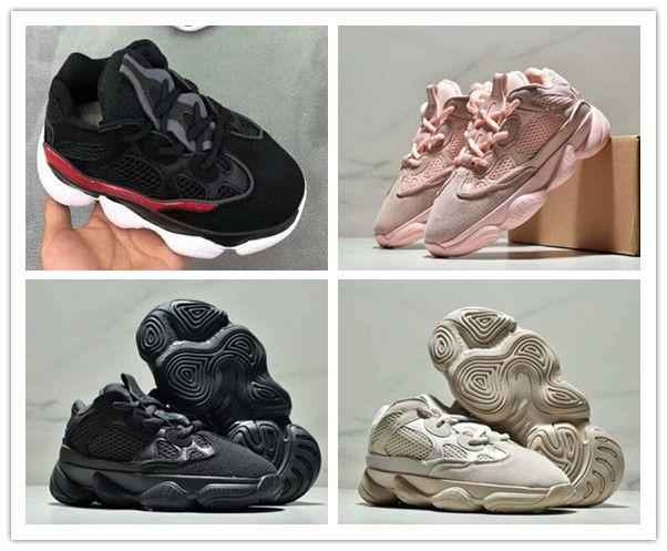 best authentic 6b374 782ab Adidas Yeezy Boost 500 kid Running Shoes Runner 500 Blush Desert Rat 500  Super Mauve Solid Grey Luxury Designer Shoes size 26-35