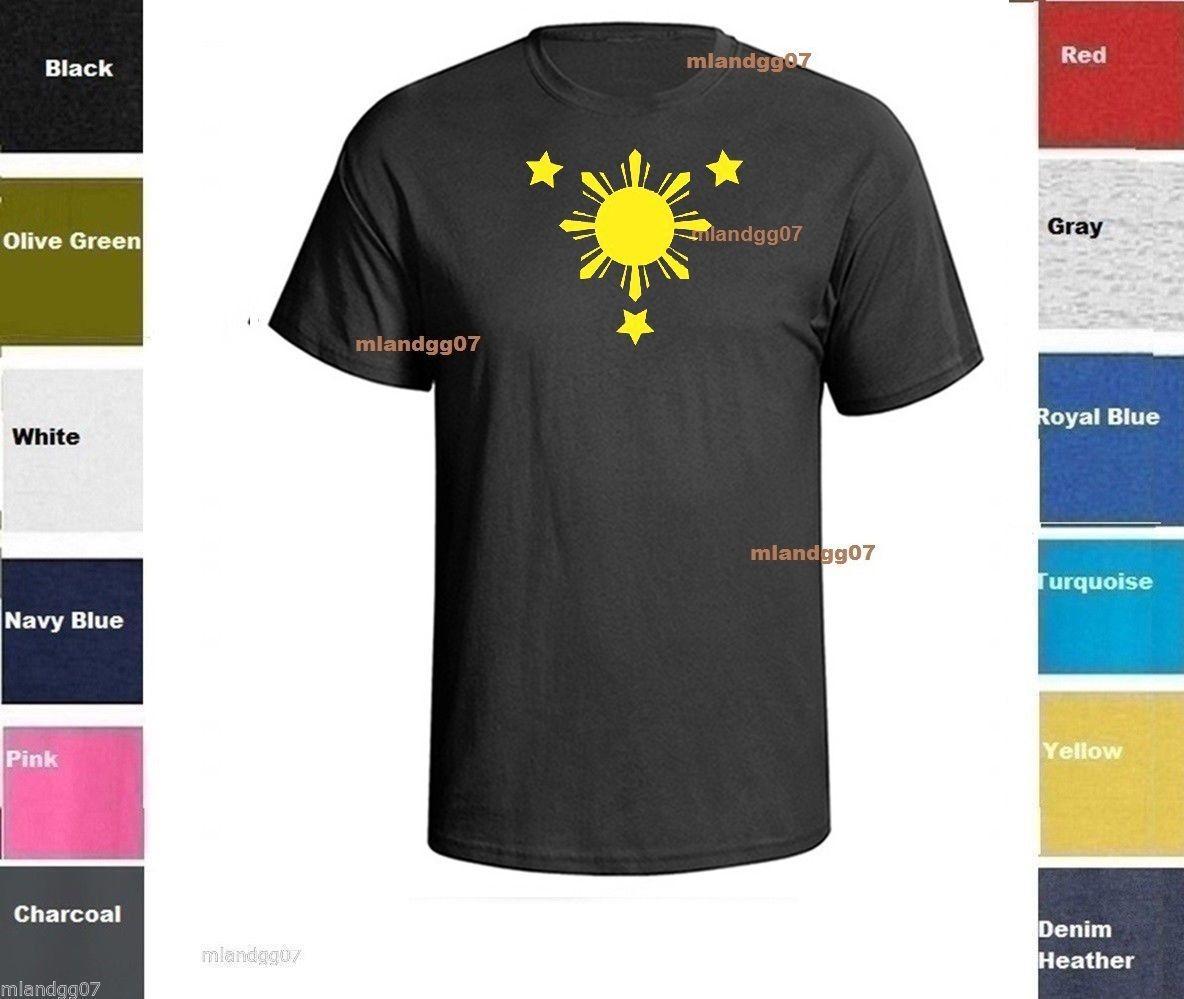 e3e48ca721b70 Philippine Flag T-Shirt Philippines Shirt SZ S-5XLFunny free shipping  Unisex Casual Tshirt