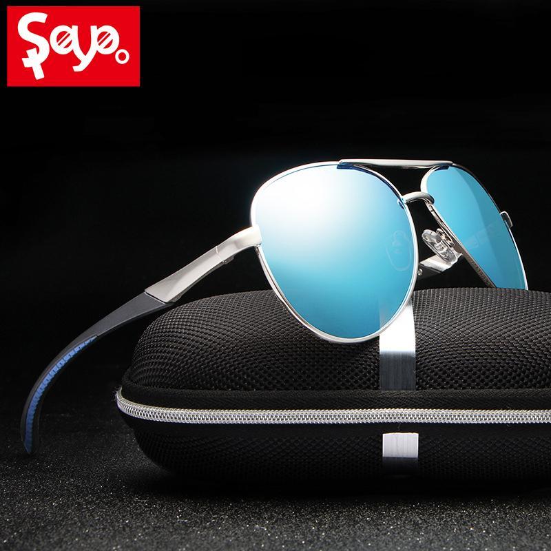 71d225b738 SAYLAYO 2019 Fashion Classic HD Sunglasses Men Polarized Women Band ...
