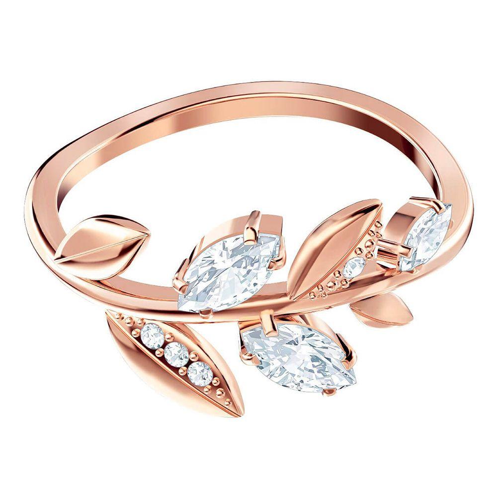 4dc954480 Swarovski new style fresh leaves fashion elegant women's ring ring jewelry  5409695 Valentine's Day to send girlfriend gifts