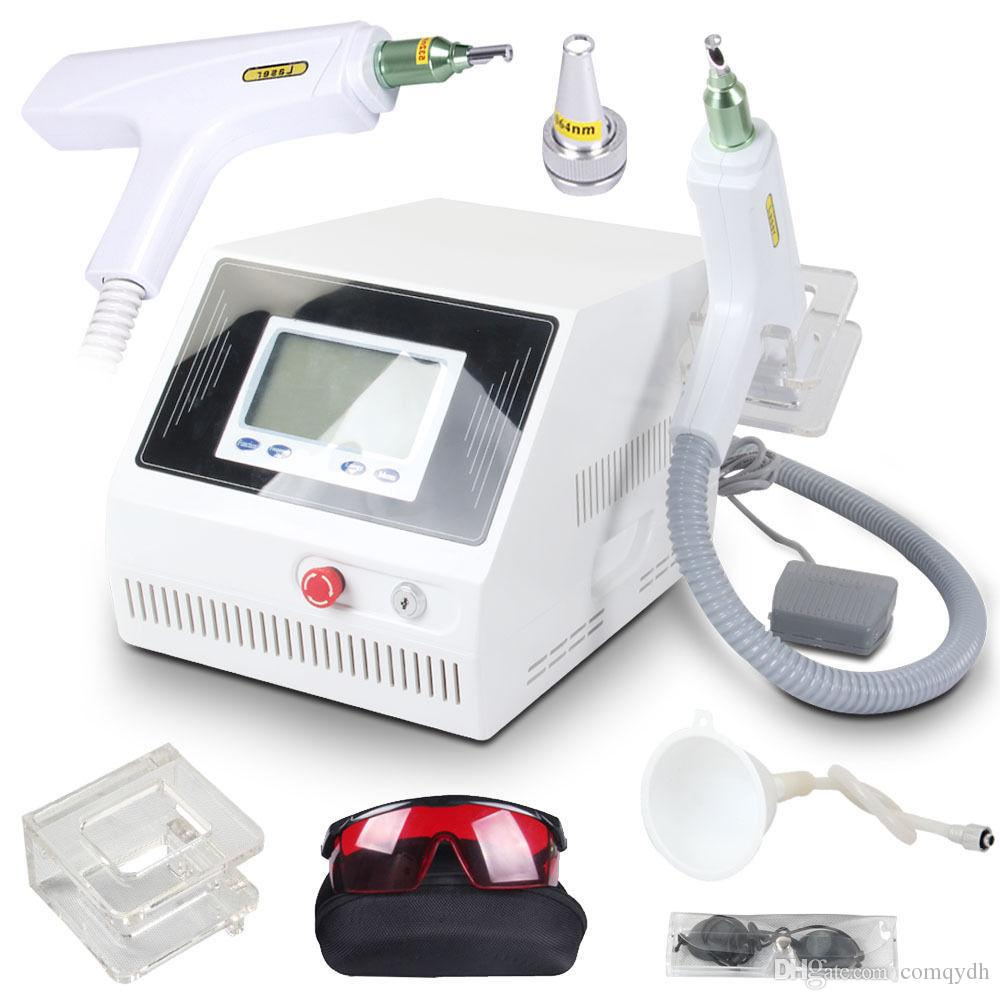 2000MJ interruttore di tocco dello schermo D yag nd bellezza del laser rimozione del tatuaggio macchina rimozione acne cicatrice Pigment 1320 nm 1064nm 532nm